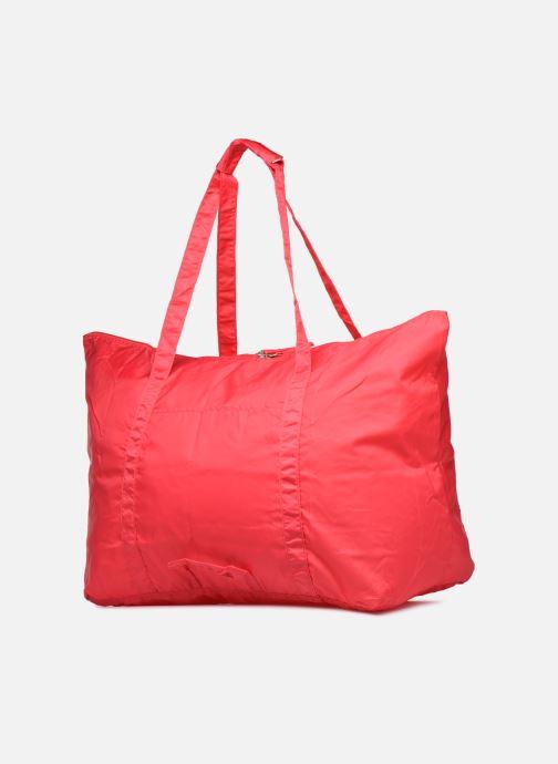 Bagages Bensimon Extra bag L Weekender pliable Rose vue droite