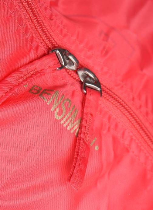 Bagages Bensimon Extra bag L Weekender pliable Rose vue gauche
