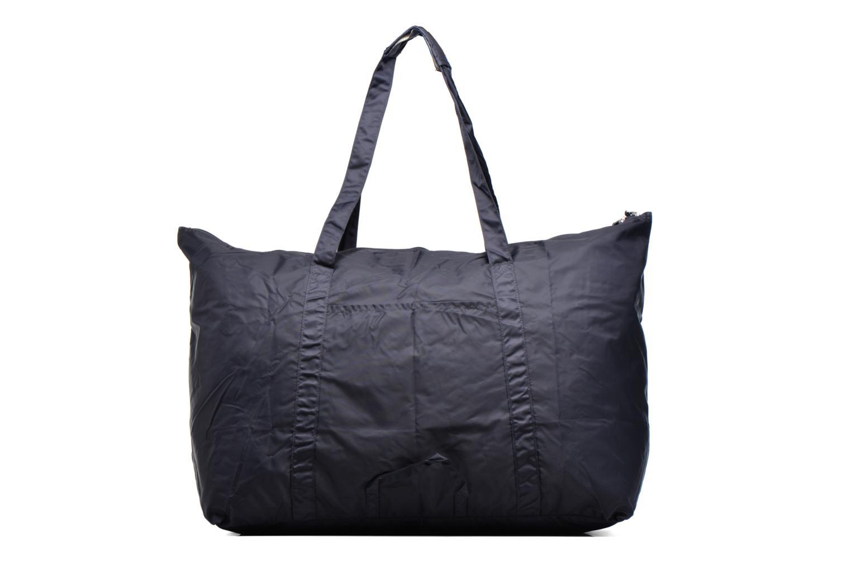 Bagages Bensimon Extra bag L Weekender pliable Bleu vue face