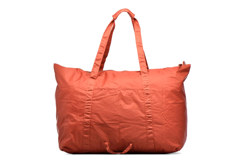 Bagages Bensimon Extra bag L Weekender pliable Marron vue face