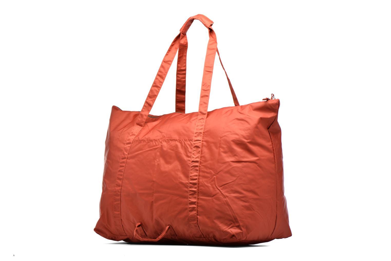 Bagages Bensimon Extra bag L Weekender pliable Marron vue droite