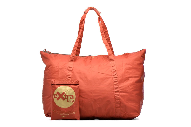 Bagages Bensimon Extra bag L Weekender pliable Marron vue détail/paire