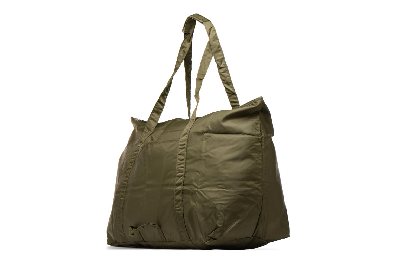 Bagages Bensimon Extra bag L Weekender pliable Vert vue droite