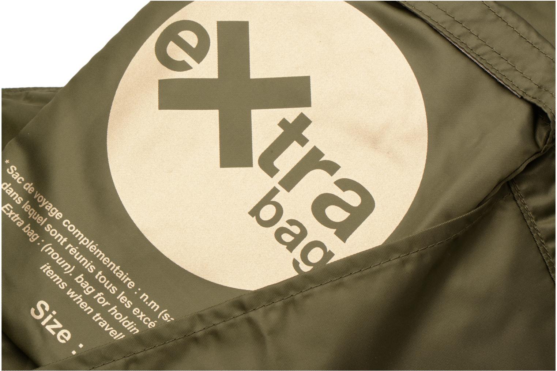 Bagages Bensimon Extra bag L Weekender pliable Vert vue gauche