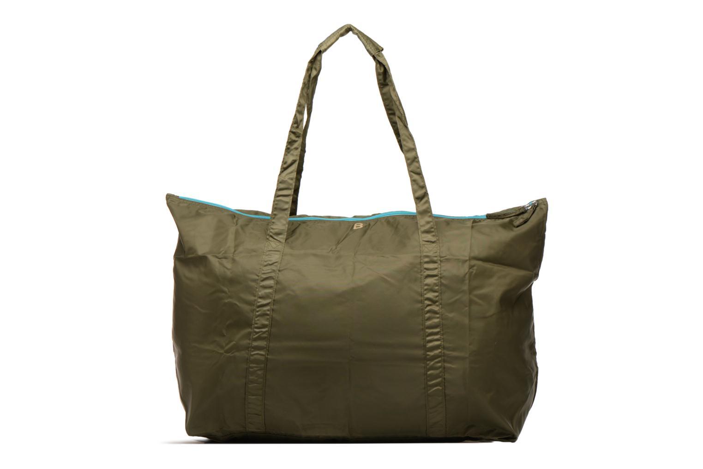 Bagages Bensimon Extra bag L Weekender pliable Vert vue détail/paire