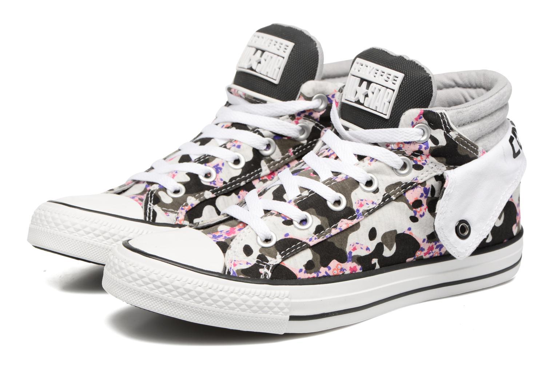 Sneakers Converse Chuck Taylor Pc Layer Mid Hi Top Vit 3/4 bild