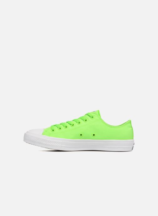 Baskets Converse Chuck Taylor All Star II Ox Neon M Vert vue face