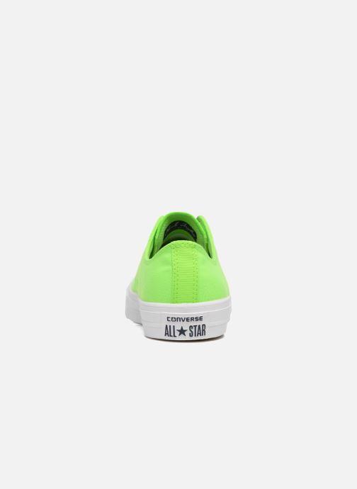 Baskets Converse Chuck Taylor All Star II Ox Neon M Vert vue droite