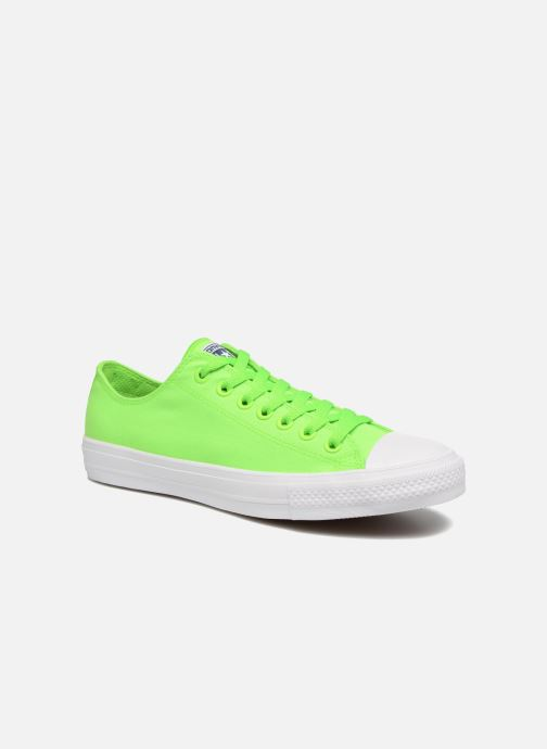 6c1ec1d4c544 Trainers Converse Chuck Taylor All Star II Ox Neon M Green detailed view   Pair view