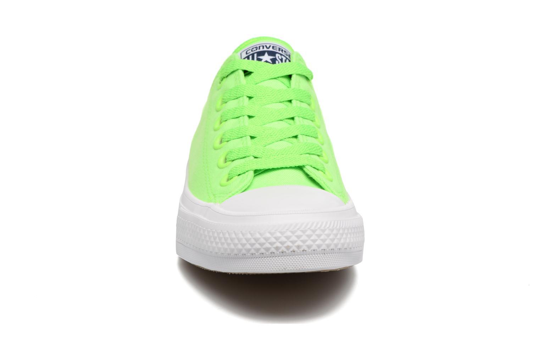 Deportivas Converse Chuck Taylor All Star II Ox Neon W Verde vista del modelo