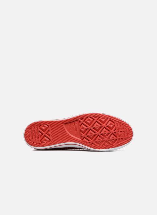 Baskets Converse Ctas Pro Ox Rouge vue haut