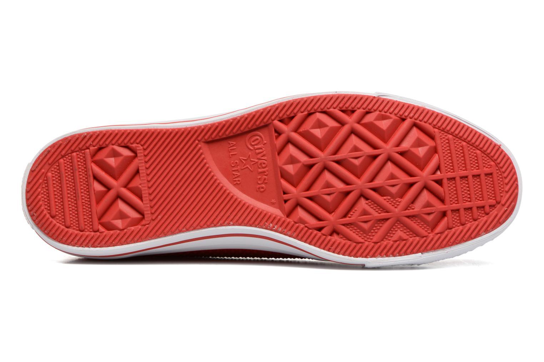 Sneakers Converse Ctas Pro Ox Rosso immagine dall'alto