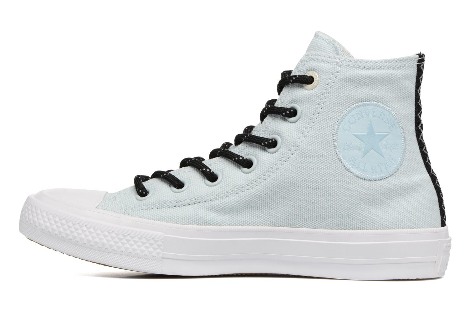 Trainers Converse Chuck Taylor All Star II Hi Shield Lycra W Blue front view