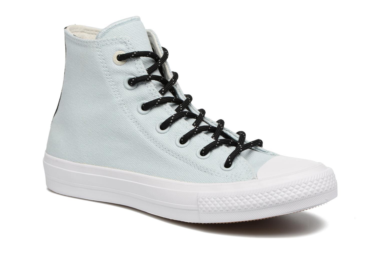 Sneakers Converse Chuck Taylor All Star II Hi Shield Lycra W Azzurro vedi dettaglio/paio