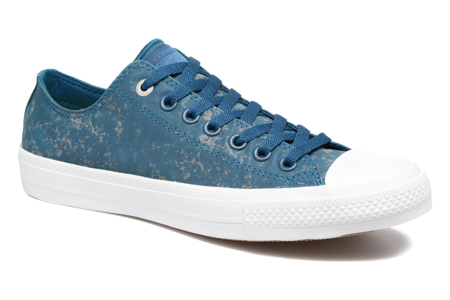 Sneaker Converse Chuck Taylor All Star II Ox Reflective Wash M blau detaillierte ansicht/modell