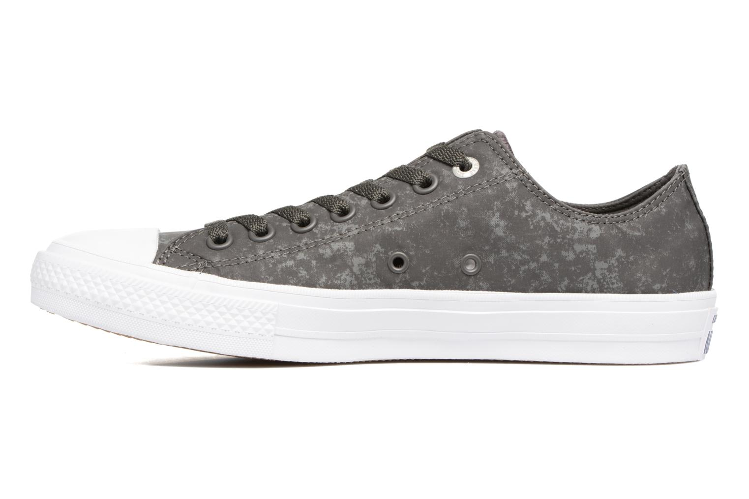 Baskets Converse Chuck Taylor All Star II Ox Reflective Wash M Gris vue face