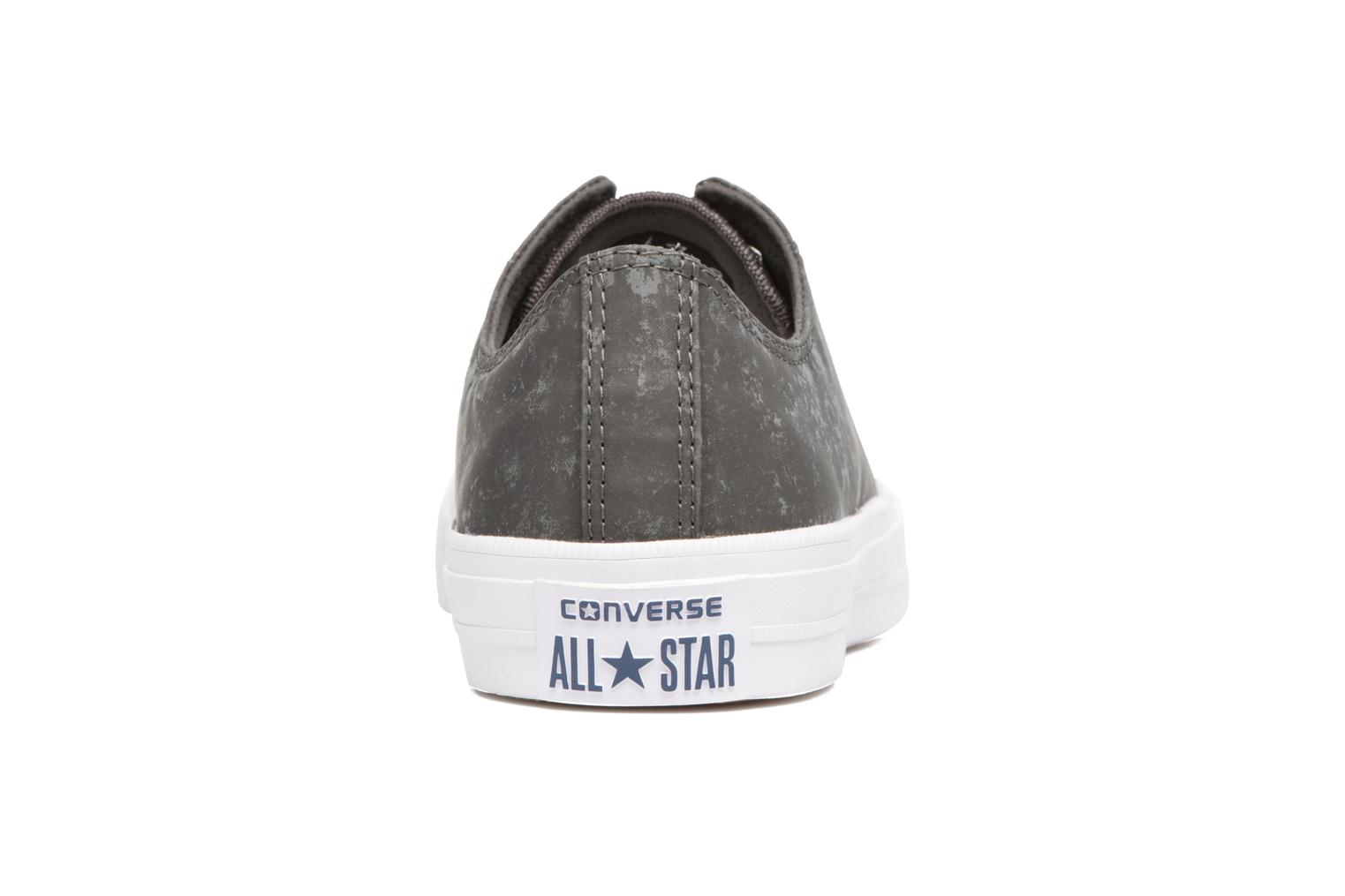 Baskets Converse Chuck Taylor All Star II Ox Reflective Wash M Gris vue droite