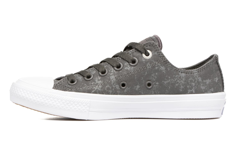 Sneaker Converse Chuck Taylor All Star II Ox Reflective Wash W grau ansicht von vorne