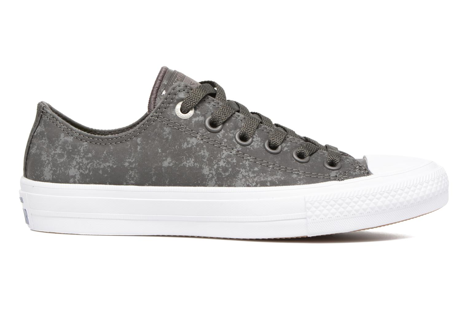 Deportivas Converse Chuck Taylor All Star II Ox Reflective Wash W Gris vistra trasera