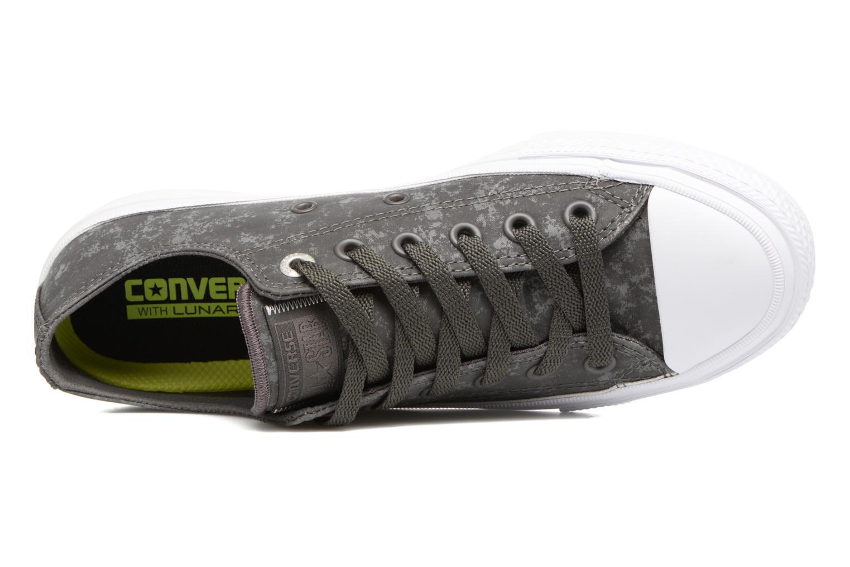 Sneaker Converse Chuck Taylor All Star II Ox Reflective Wash W grau ansicht von links
