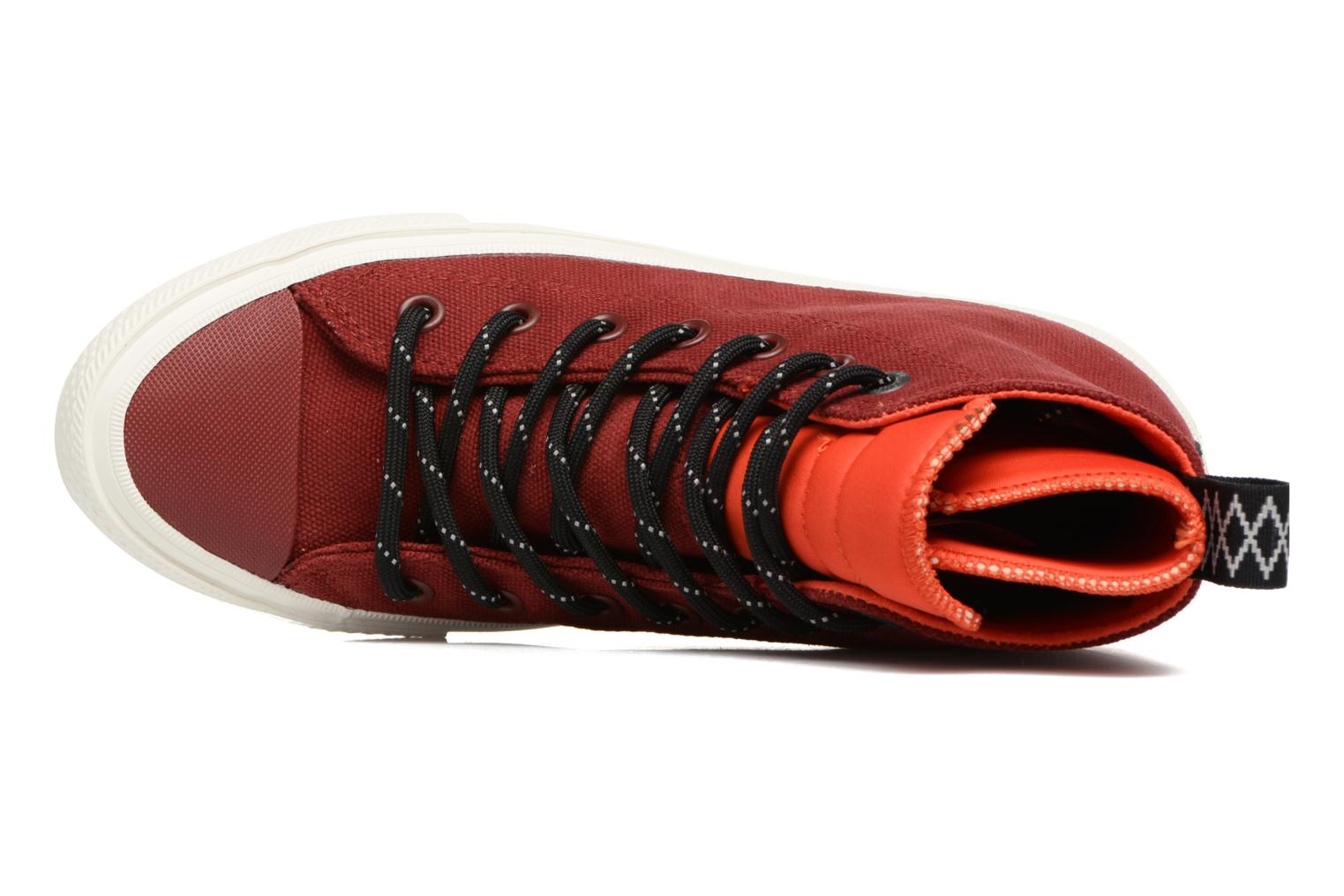 Trainers Converse Chuck Taylor All Star II Hi Shield Canvas Boot W Red view from the left