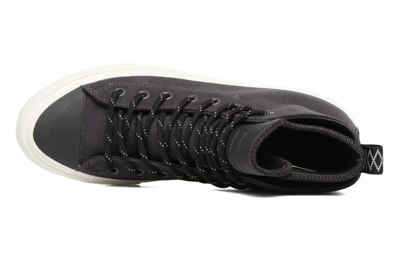 Sneaker Converse Chuck Taylor All Star II Hi Shield Canvas Boot M schwarz ansicht von links