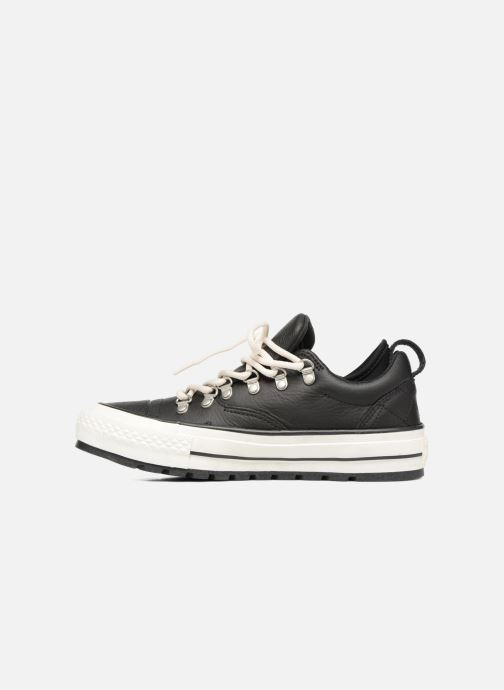 Baskets Converse Chuck Taylor All Star Descent Quilted Leather Ox W Noir vue face
