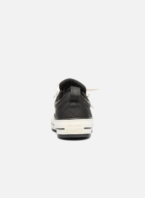 Baskets Converse Chuck Taylor All Star Descent Quilted Leather Ox W Noir vue droite