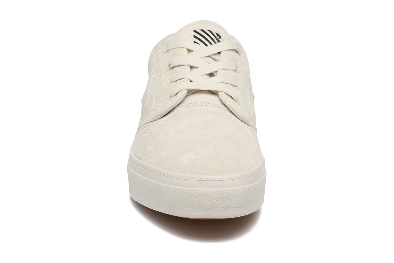 Baskets Converse Cons Zakim Suede Ox M Blanc vue portées chaussures