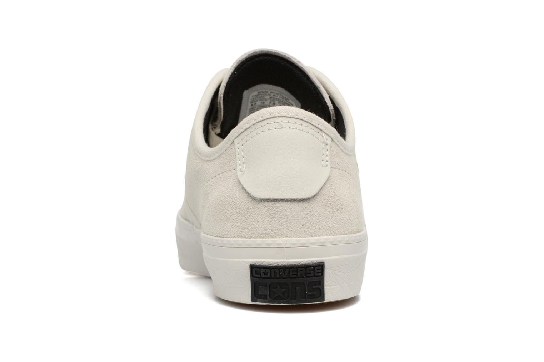 Baskets Converse Cons Zakim Suede Ox M Blanc vue droite