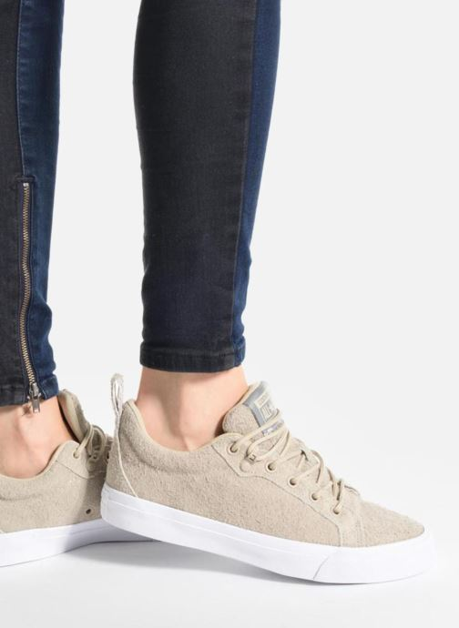 Sneakers Converse Chuck Taylor All Star Fulton Wooly Bully Ox Beige immagine dal basso