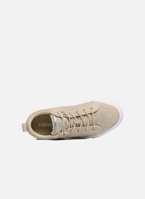 Sneakers Converse Chuck Taylor All Star Fulton Wooly Bully Ox Beige immagine sinistra
