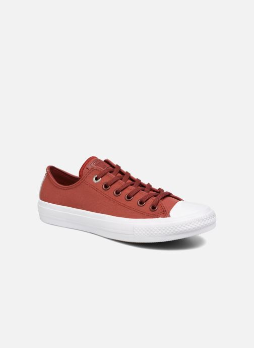 Converse Chuck II Two-Tone Leather Ox W (Rouge) - Baskets ...