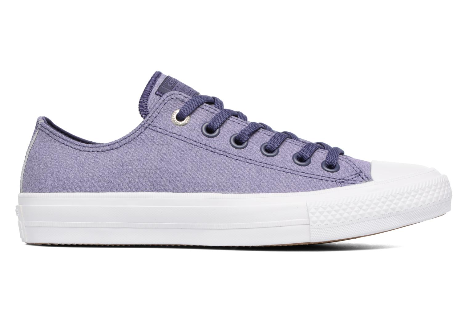 Baskets Converse Chuck II Two-Tone Leather Ox W Violet vue derrière