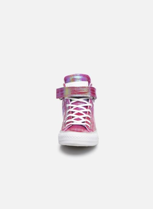Sneakers Converse Chuck Taylor All Star Brea Hi W Rosa modello indossato