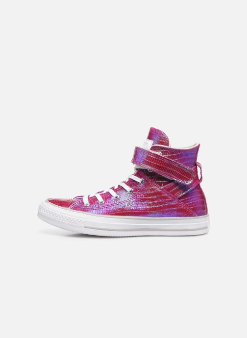 Baskets Converse Chuck Taylor All Star Brea Hi W Rose vue face