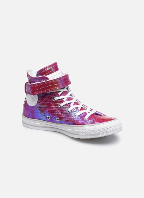 5fa445b8b2943 Trainers Converse Chuck Taylor All Star Brea Hi W Pink detailed view  Pair  view