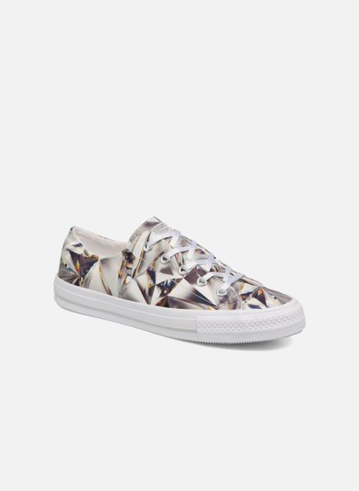 Trainers Converse Chuck Taylor All Star Gemma Hi Graphic Silver detailed view/ Pair view