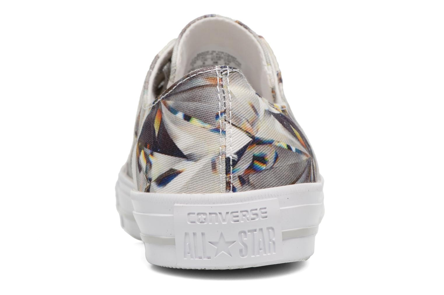 Trainers Converse Chuck Taylor All Star Gemma Hi Graphic Silver view from the right