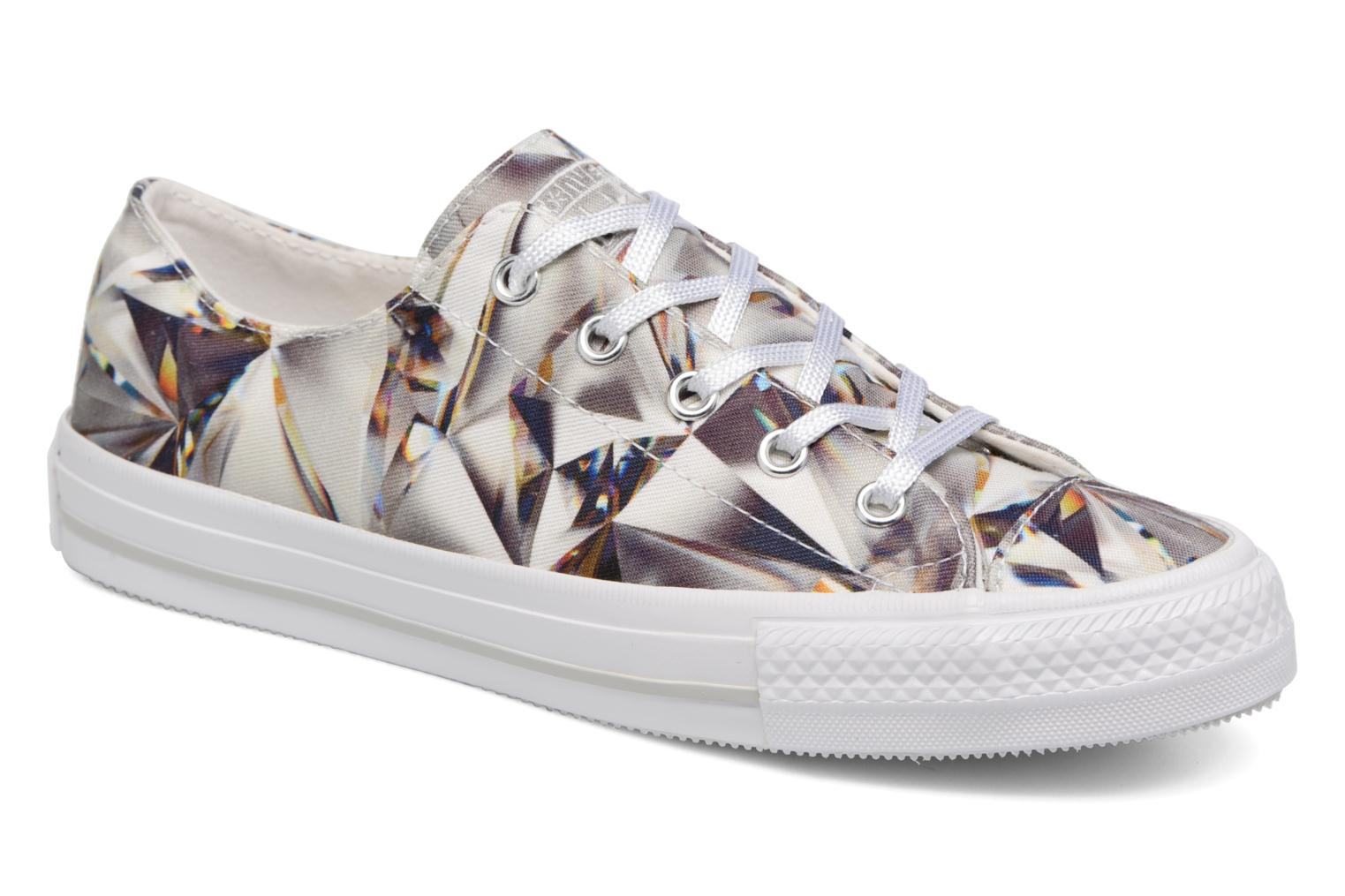 Sneakers Converse Chuck Taylor All Star Gemma Hi Graphic Zilver detail