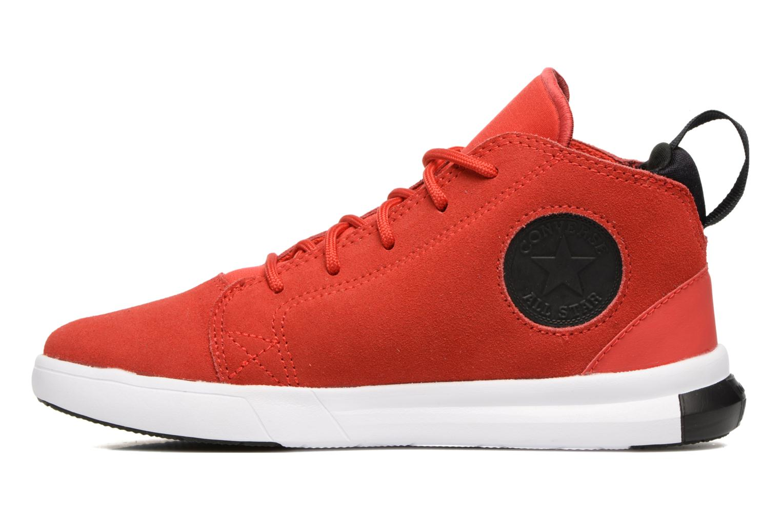 Baskets Converse Chuck Taylor All Star Easy Ride Mid Rouge vue face