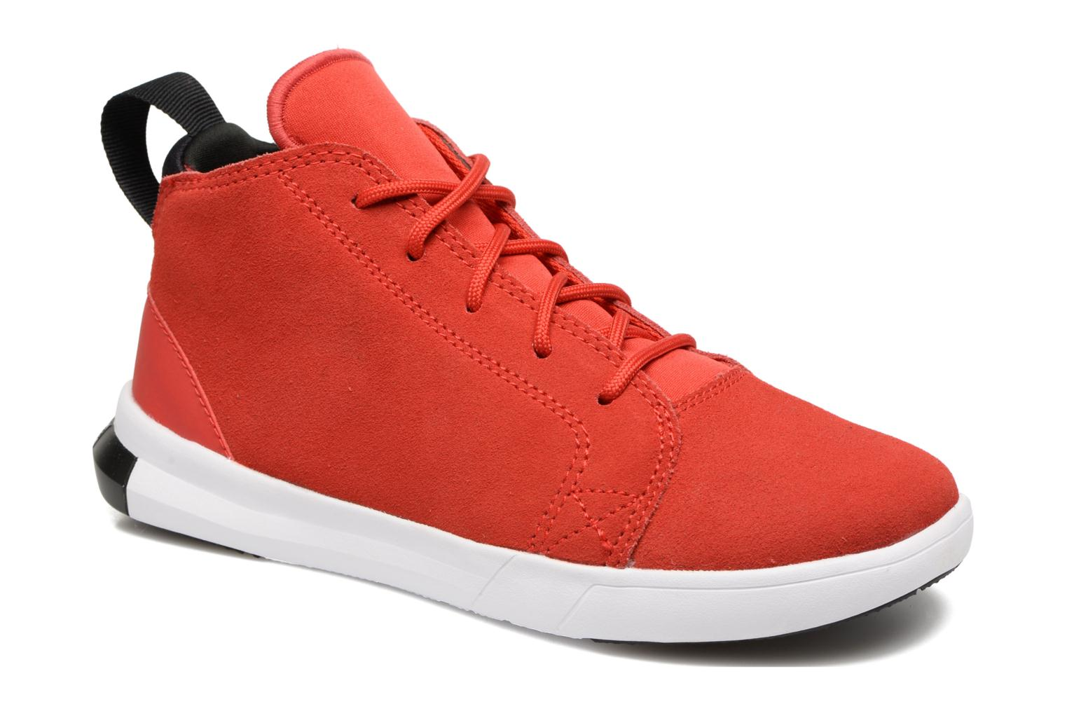 Baskets Converse Chuck Taylor All Star Easy Ride Mid Rouge vue détail/paire