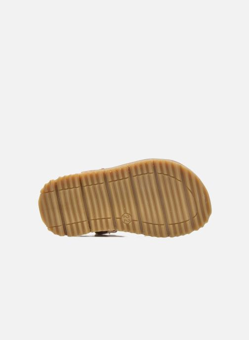 Sandales et nu-pieds GBB Magdalena Rose vue haut