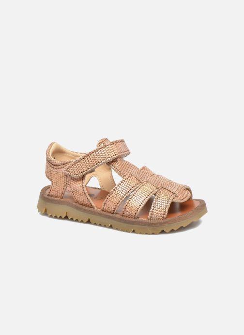 Sandales et nu-pieds GBB Magdalena Rose vue détail/paire