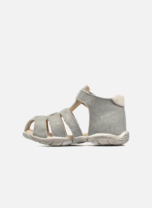 Sandales et nu-pieds GBB Manolo Gris vue face
