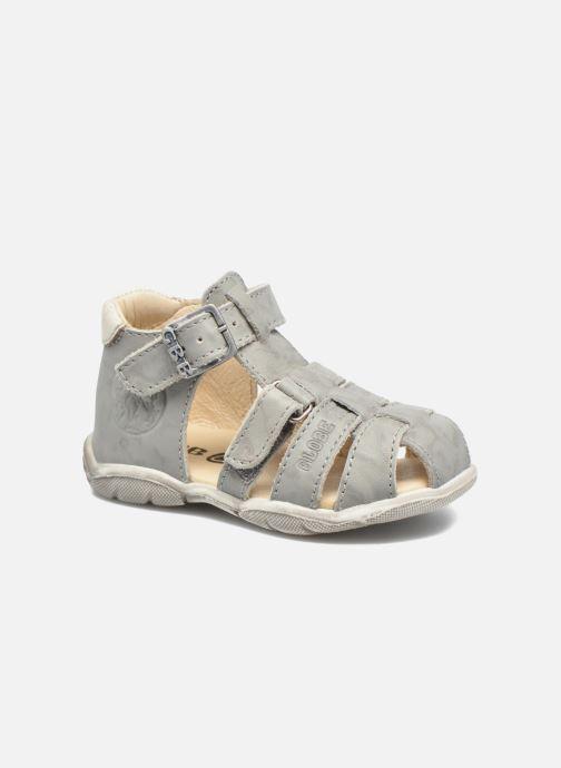 Sandales et nu-pieds GBB Manolo Gris vue détail/paire
