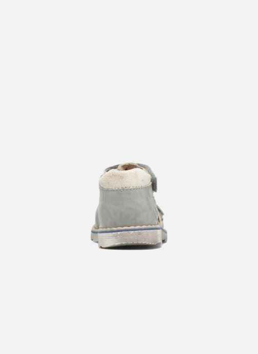 Sandales et nu-pieds GBB Mathurin Gris vue droite