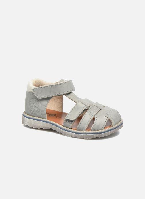 Sandales et nu-pieds GBB Mathurin Gris vue détail/paire