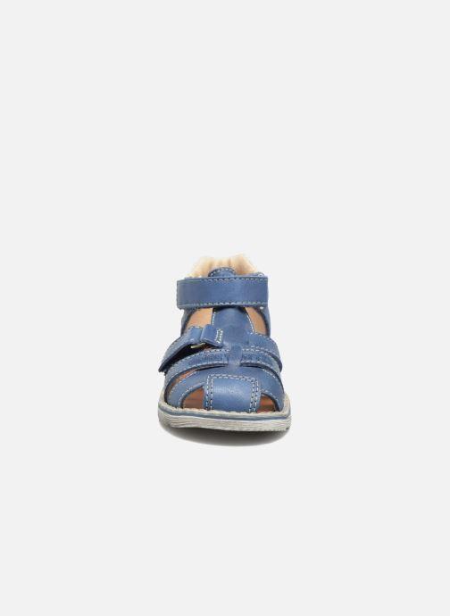 Sandales et nu-pieds GBB Mathurin Bleu vue portées chaussures