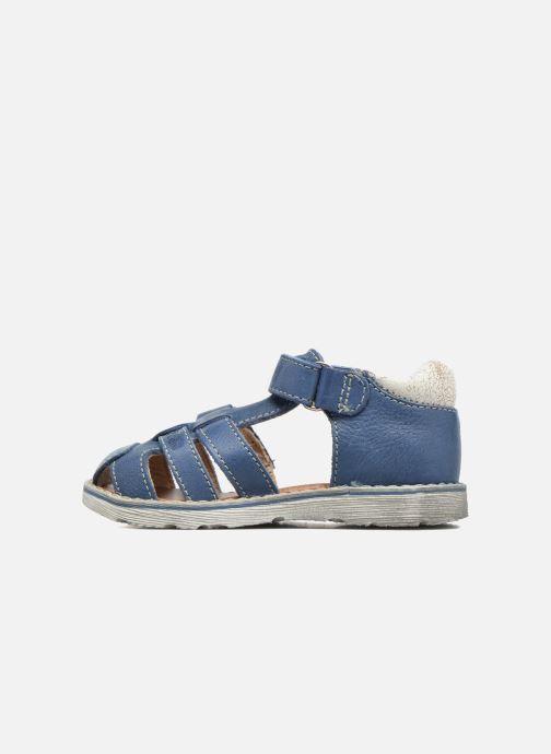 Sandales et nu-pieds GBB Mathurin Bleu vue face
